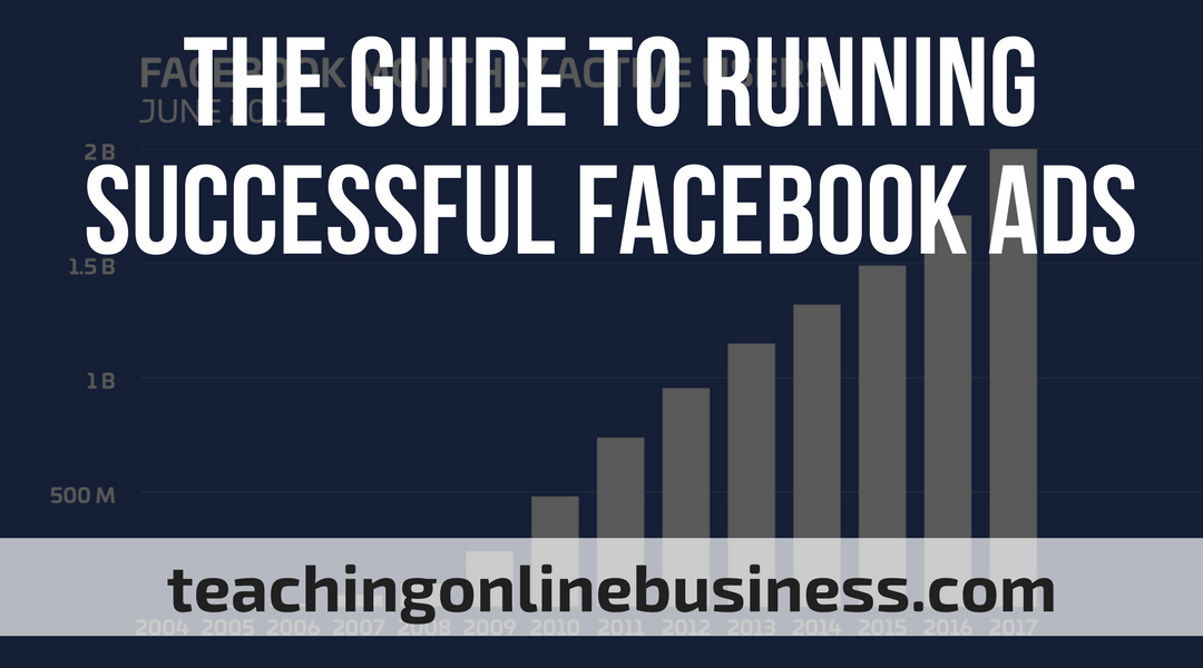 Facebook Ads: The Guide To Running Successful Facebook Ads